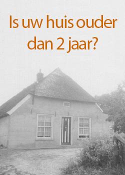 Voor huizen ouder dan 2 jaar geldt een verlaagd BTW tarief van 9%!