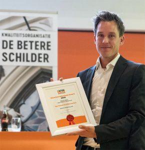 Winnaar Beter Schilder Award Midden Nederland